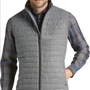 Men's Jos. A. Bank Reserve Gray Wool Vest